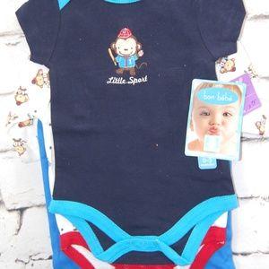Infant 3 pc. Bodysuit w/pants
